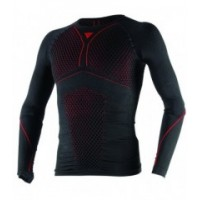 TÉRMICO DAINESE D-CORE THERMO TEE LS NEGRO ROJO