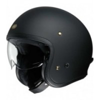 CASCO SHOEI J-O NEGRO MATE