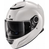 CASCO SHARK SPARTAN BLANK 1.2 lateral-blanco