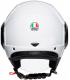CASCO AGV ORBYT SOLID BLANCO 4