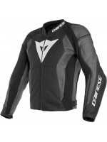 CHAQUETA DAINESE NEXUS LEATHER NEGRO EBONY