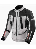 CHAQUETA REV'IT SAND 4 H2O NEGRO PLATA