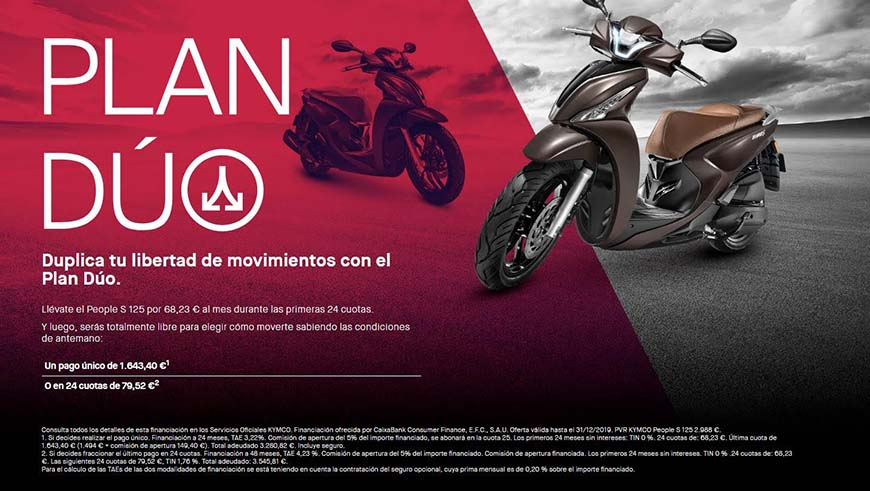 kymco financiacion