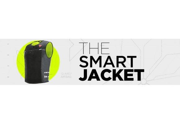Presentamos SMART JACKET lo último de Dainese en seguridad para el motorista.