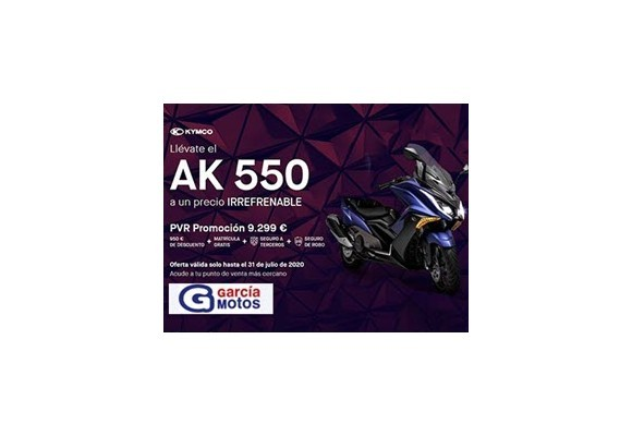 LLÉVATE EL AK 550 A UN PRECIO IRREFRENABLE