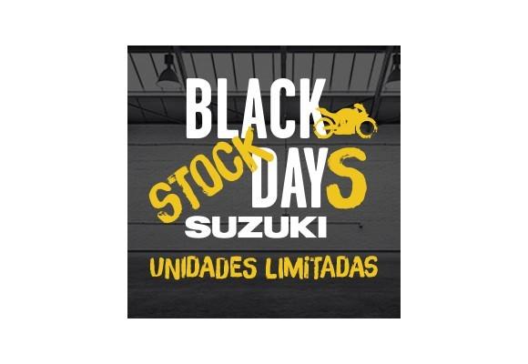 Atención a los BLACK STOCK DAYS de SUZUKI