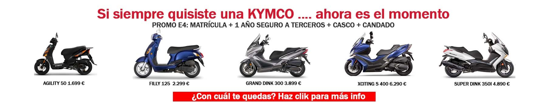 PROMO KYMVO E4