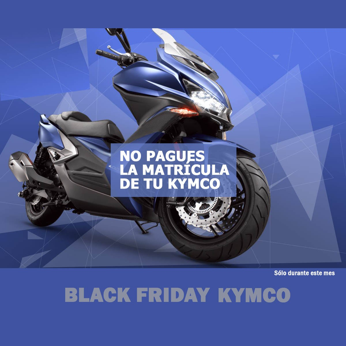 BLACK FRIDAY KYMCO