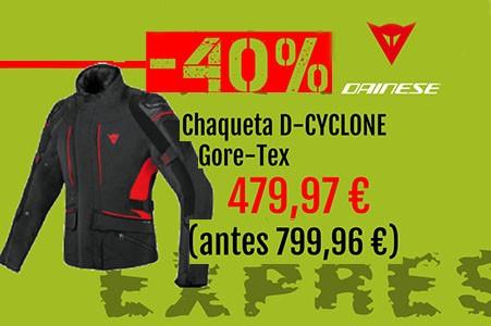 chaqueta d-cyclone