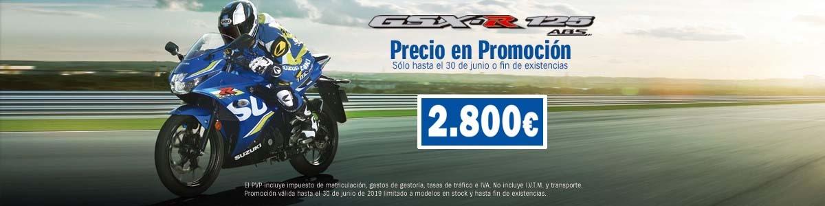 Promo Suzuki GSXR 125